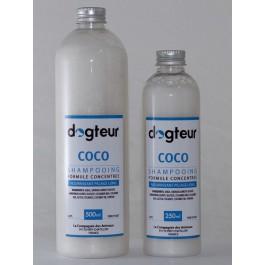 Offre Dogteur: 1 Shampooing PRO Dogteur Huile de Coco 5 L acheté = 1 gant de toilettage offert - Dogteur