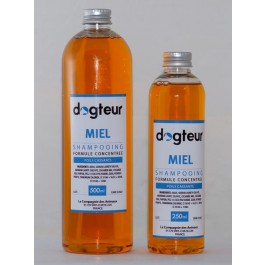 Offre Dogteur: 1 Shampooing PRO Dogteur Miel 10 L acheté = 1 gant de toilettage offert - Dogteur