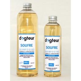 Offre Dogteur: 1 Shampooing PRO Dogteur Soufre 5 L acheté = 1 gant de toilettage offert - Dogteur