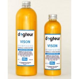 Offre Dogteur: 1 Shampooing PRO Dogteur Vison 10 L acheté = 1 gant de toilettage offert - Dogteur