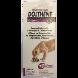 Dolthene L (chien de 33 à 66 kg) 100 ml - Dogteur