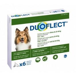 Duoflect Chiens 20-40 kg 6 pipettes - 12 mois - Dogteur