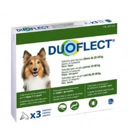 Duoflect Chiens 20-40 kg 3 pipettes - 6 mois - Dogteur