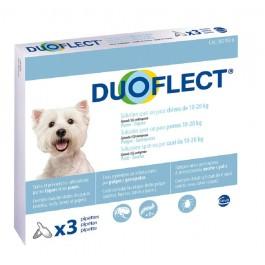 Duoflect Chiens 10-20 kg 3 pipettes - 6 mois - Dogteur