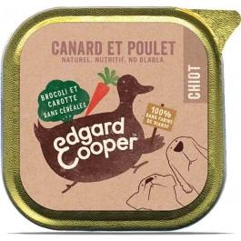 Edgard & Cooper Barquette Poulet & Canard Chiot 11 x 150 g - Dogteur