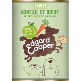Edgard & Cooper Boite Agneau et Bœuf Chien adulte 6 x 400 g - Dogteur