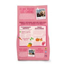 Edgard & Cooper Croquettes Canard et Poulet frais sans céréale Chiot 2.5 kg - Dogteur
