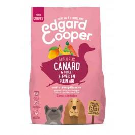 Edgard & Cooper Croquettes Canard et Poulet frais sans céréale Chiot 700 g - Dogteur