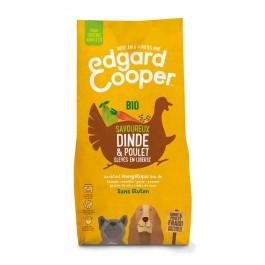 Edgard & Cooper Croquettes Dinde & Poulet Frais Bio sans céréale Chien Adulte 7 kg - Dogteur