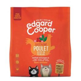 Edgard & Cooper Succulent Poulet croquettes sans céréales pour chat adulte 1,75 kg - Dogteur