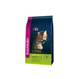 Eukanuba Chat Adult Hairball Control Poulet et Foie 4 kg - Dogteur