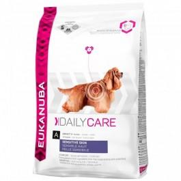 Eukanuba Chien Daily Care Sensitive Skin 12 kg - Dogteur