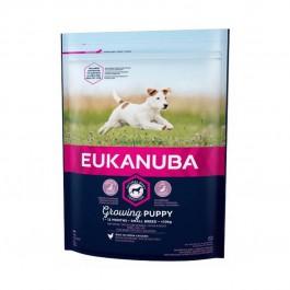 Eukanuba Growing Puppy Petite Race au poulet 1 kg - Dogteur