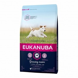 Eukanuba Growing Puppy Petite Race au poulet 3 kg - Dogteur