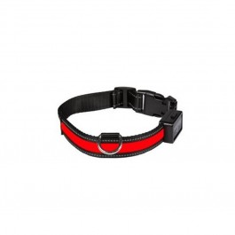 Eyenimal Collier Lumineux USB Rechargeable Rouge Taille M - Dogteur