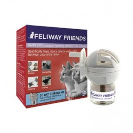 Feliway Friends diffuseur + recharge 48 ml - Dogteur