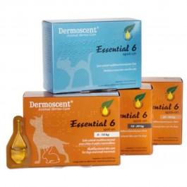Dermoscent Essential 6 Chien et petits mammifères de 0 à 10 kg - 4 pipettes - Dogteur