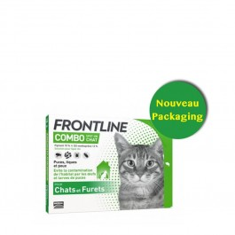 Frontline Combo Chat 3 pipettes - Dogteur
