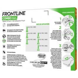 Frontline Combo Chien 2-10 kg 4 pipettes - Dogteur
