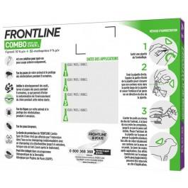 Frontline Combo Chien 20-40 kg 6 pipettes - Dogteur