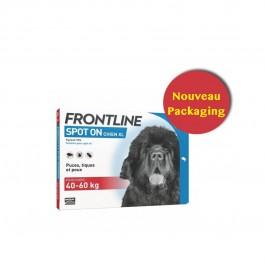 Frontline Spot on chien de 40-60 kg 4 pipettes - Dogteur