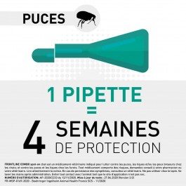 Frontline Combo Chat 30 pipettes - Dogteur