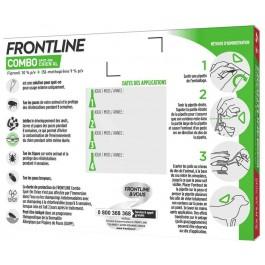 Frontline Combo Chien 40-60 kg 6 pipettes - Dogteur