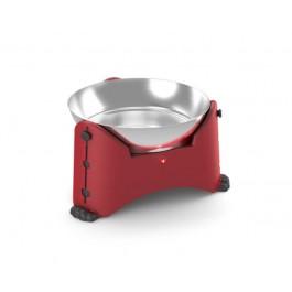 Gamelle ajustable Rotho Mypet Rouge 2.5 L - Dogteur