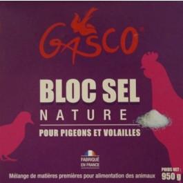Gasco Bloc de Sel Nature 950 g - Dogteur