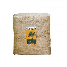 Gasco Litière Paille Naturelle pour Rongeur et Volaille 4 kg - Dogteur