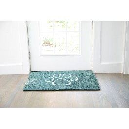 DGS Dirty Dog Doormats Tapis turquoise L - Dogteur