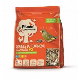 Plumes & Compagnie Graines de Tournesol décortiquées 1.5 kg - Dogteur