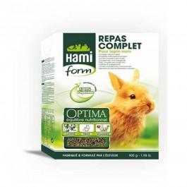 Hami Form Repas Complet Optima Lapin Nain 900 grs - Dogteur