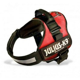 Harnais Power Julius-K9 Rouge M 51 à 67 cm - Dogteur