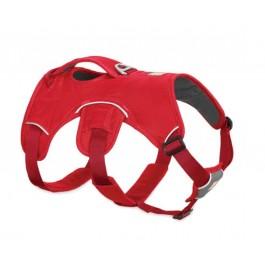 Harnais Ruffwear Web Master Rouge S - Dogteur