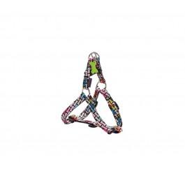 Harnais Bobby Carnaval multicolore S 28/41 cm - Dogteur