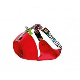 Harnais Bobby Carnaval multicolore M 40/64 cm - Dogteur