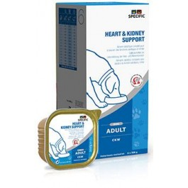 Specific Chien CKW Heart & Kidney 6 x 300 grs - Dogteur