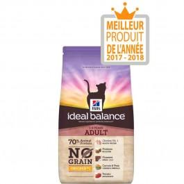Hill's Ideal Balance Feline Adult Sans Céréales poulet et pomme de terre 1,5 kg - Dogteur