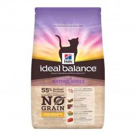 Hill's Ideal Balance Feline Mature Sans Céréales poulet et pomme de terre 1,5 kg - Dogteur