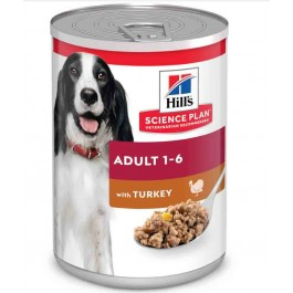 Hill's Science Plan Canine Adult Dinde 12 x 370 grs - Dogteur