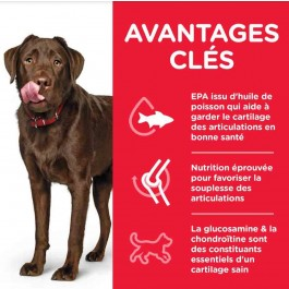 Hill's Science Plan Canine Adult Healthy Mobility Large Breed Poulet 12 kg - Dogteur