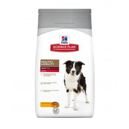 Hill's Science Plan Canine Adult Healthy Mobility Medium Breed Poulet 12 kg - Dogteur