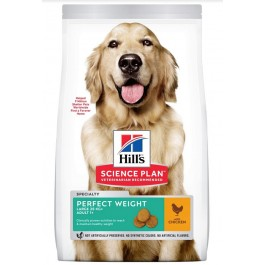 Hill's Science Plan Canine Adult Large Perfect Weight Poulet 12 kg - Dogteur