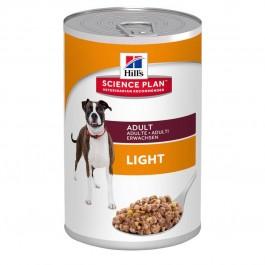 Hill's Science Plan Canine Adult Light Poulet 12 x 370 grs - Dogteur