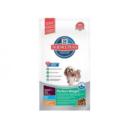 Hill's Science Plan Canine Adult Mini Perfect Weight Poulet 2 kg - Dogteur