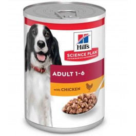 Hill's Science Plan Canine Adult Poulet 12 x 370 grs - Dogteur