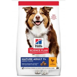Hill's Science Plan Canine Mature Adult 7+ Active Longevity Medium 12 kg - Dogteur