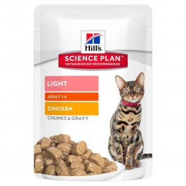 Hill's Science Plan Feline Adult Light Pack Mixte sachets 12 x 85 grs - Dogteur