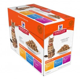Hill's Science Plan Feline Adult Optimal Care Pack Mixte sachets 12 x 85 grs - Dogteur